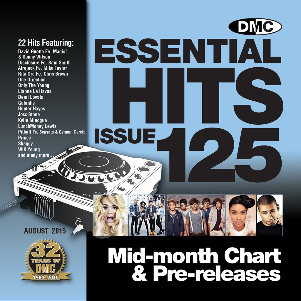 DMC Essential Hits 125 - August Release