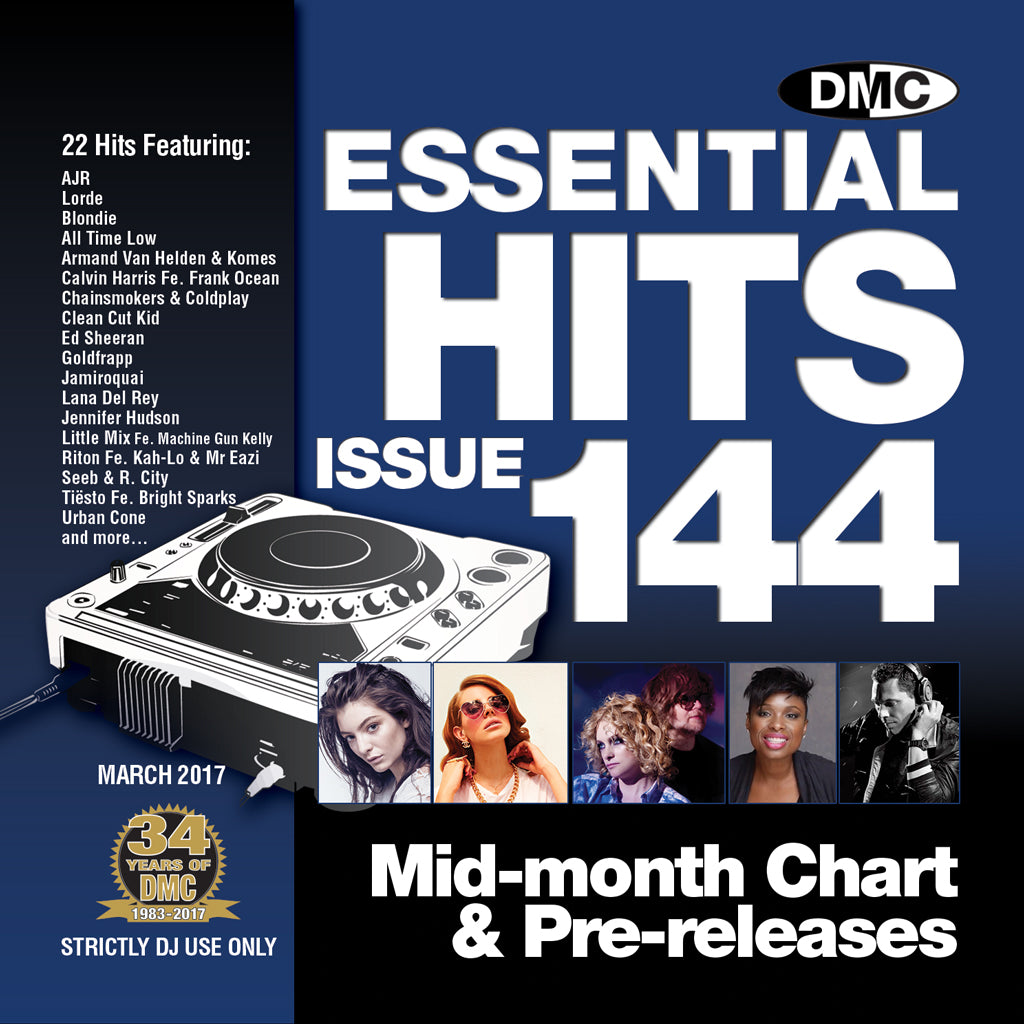 DMC Essential Hits 144 - Mid March 2017 release