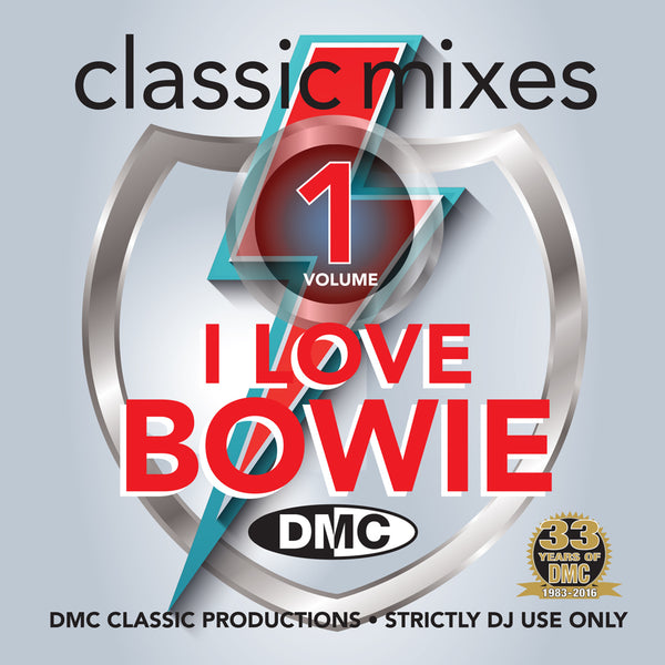 DMC Classic Mixes - I Love Bowie - New Release