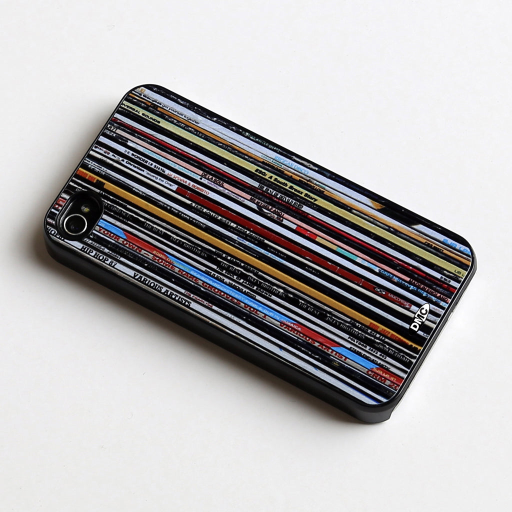 DMC Vinyl Junkie iphone 4/4s Cover