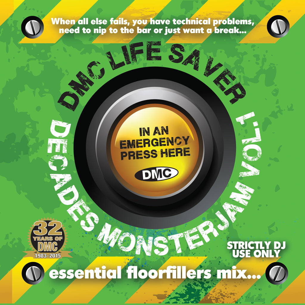 DMC Lifesaver Decades Monsterjam Vol 1. 1950s - 2000s  - NEW RELEASE