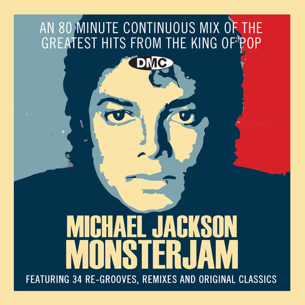 DMC Michael Jackson Monsterjam - featuring 80 minute continuous mix of re-grooves, remixes and original classics