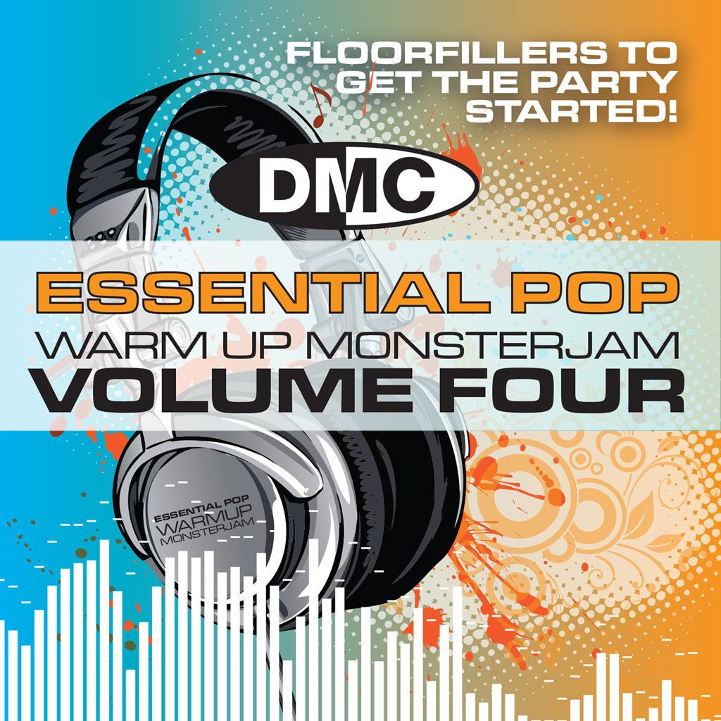 DMC Warm Up Pop Monsterjam Vol. 4 - Floorfillers to get the Party started! - New Release