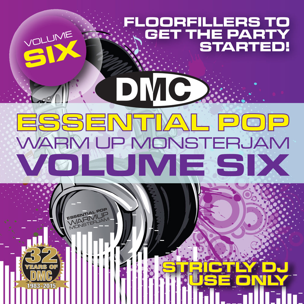 DMC Pop Warmup Monsterjam Volume 6 - New Release