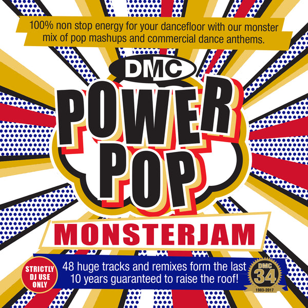 DMC POWER POP MONSTERJAM - September 2017 release