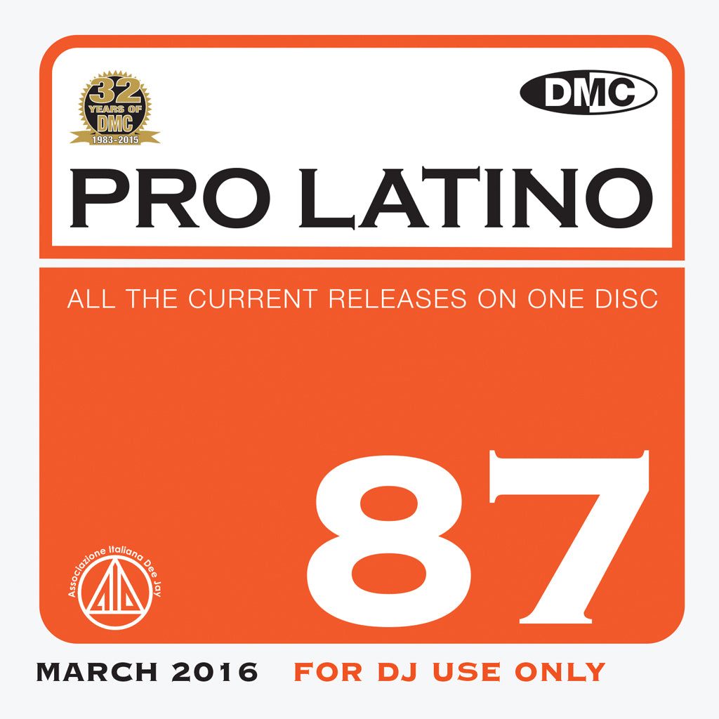 DMC Pro Latino 87 - March release