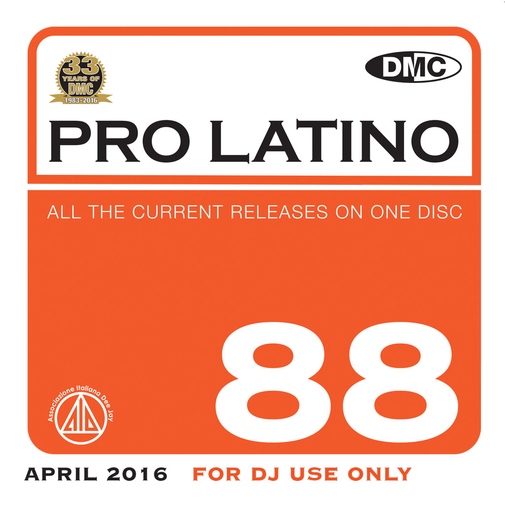 DMC Pro Latino 88 - April 2016 release