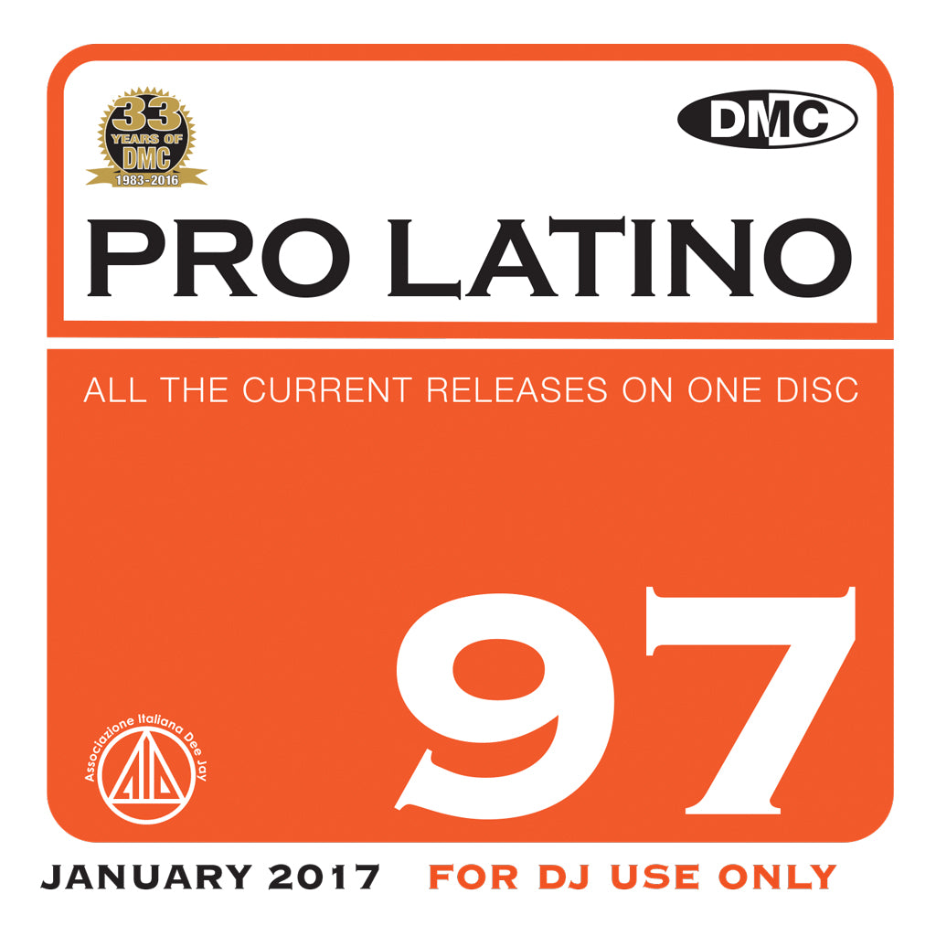 DMC Pro Latino 97 - January 2017 release