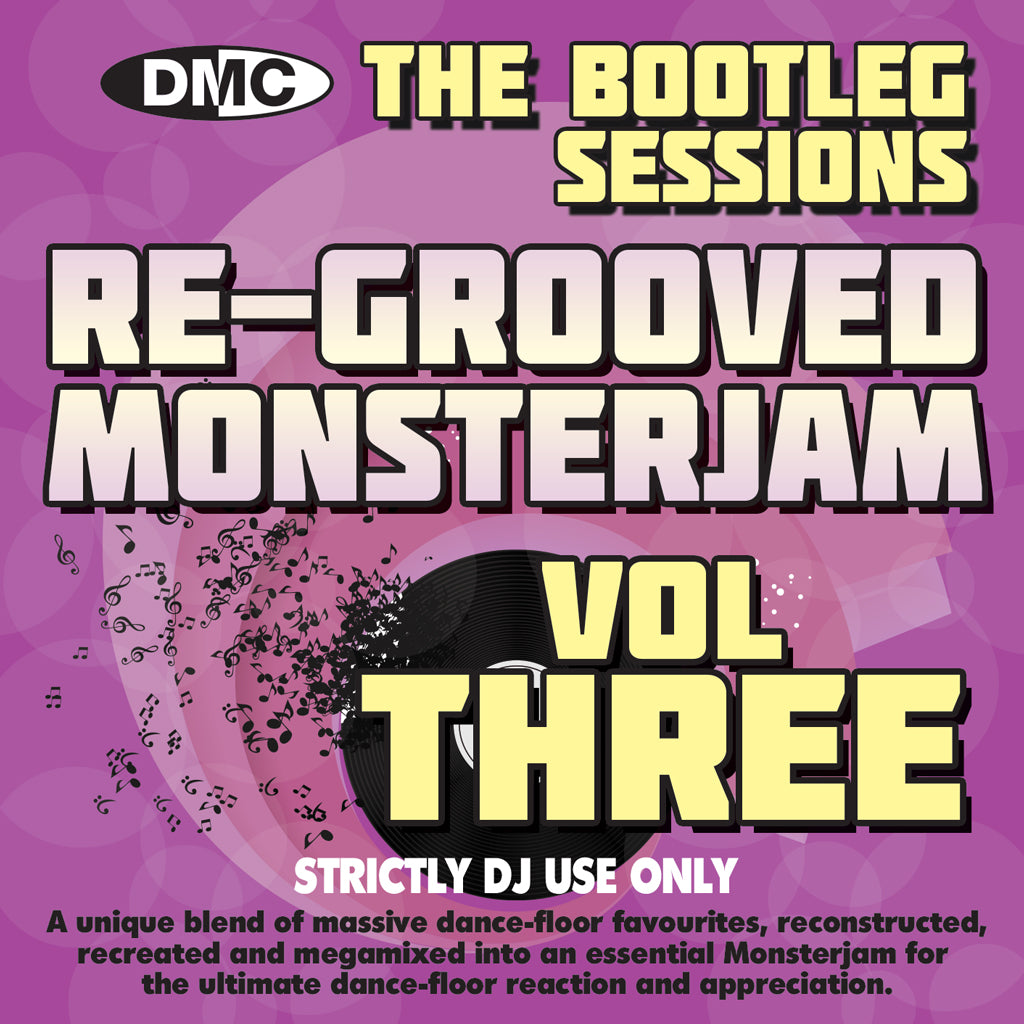 Re-Grooved Monsterjam 3 - The Bootleg Sessions  (MIXED) - New release