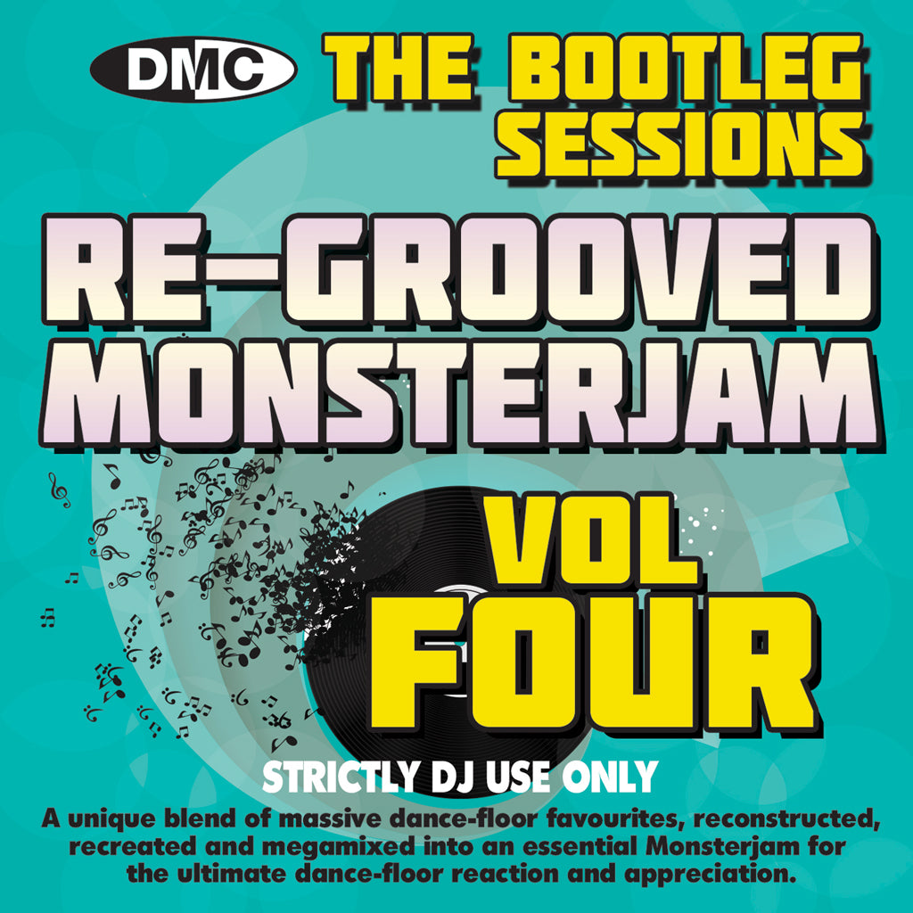 DMC RE-GROOVED MONSTERJAM 4 (The Bootleg Sessions - Remixes & Mix by DJ Ivan Santana) Mixed