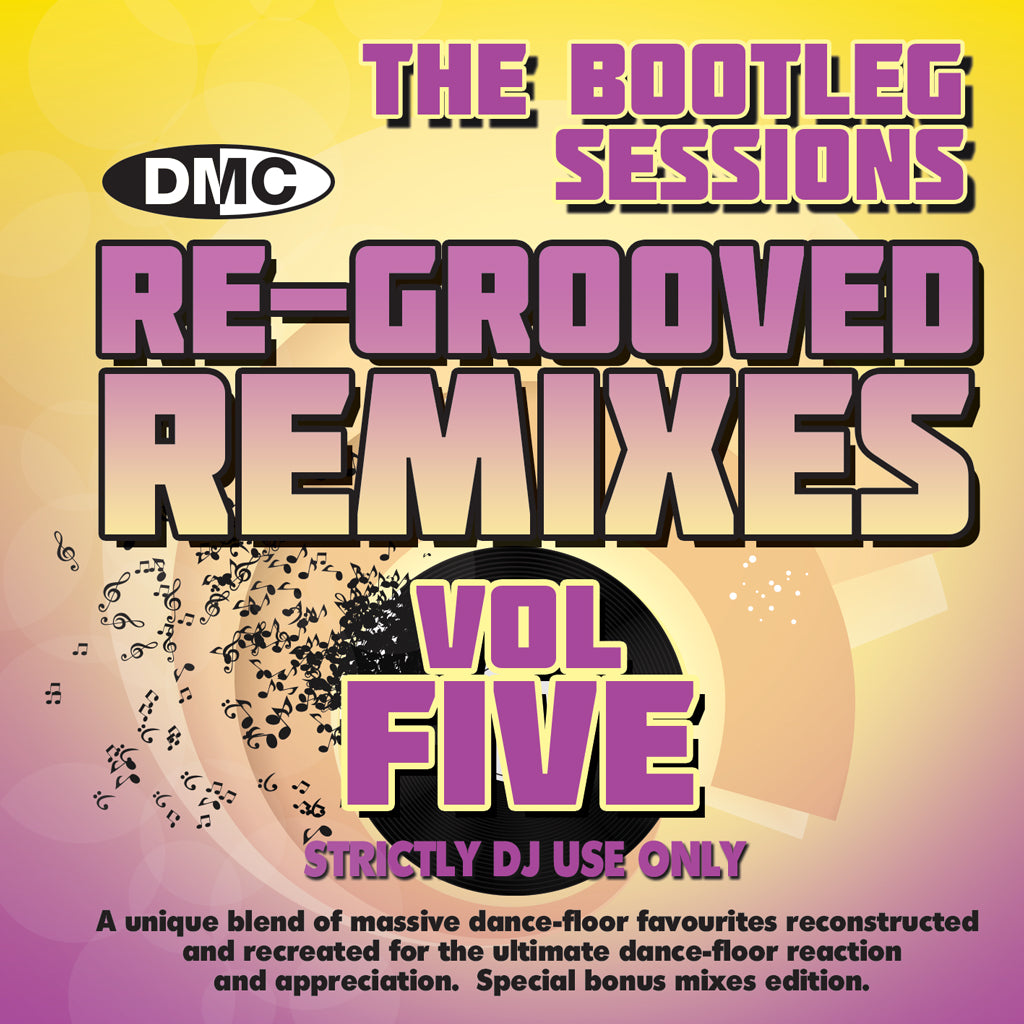 Re-Grooved Remixes - The Bootleg Sessions 5  (UNMIXED) - New release