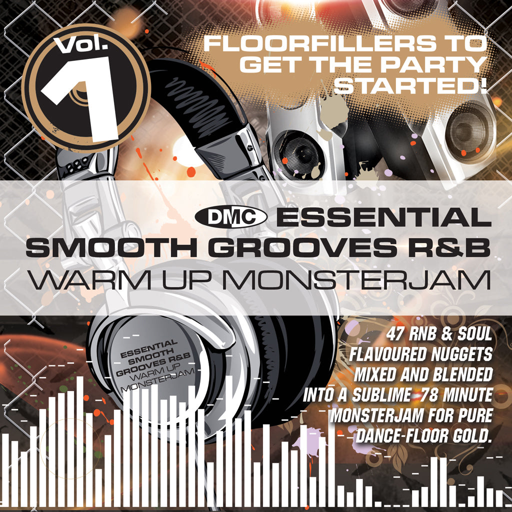 DMC WARM UP SMOOTH GROOVES R&B MONSTERJAM 1 - NEW RELEASE