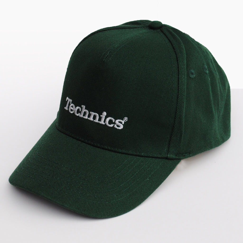 Technics Embroidered Cap (Forest Green)