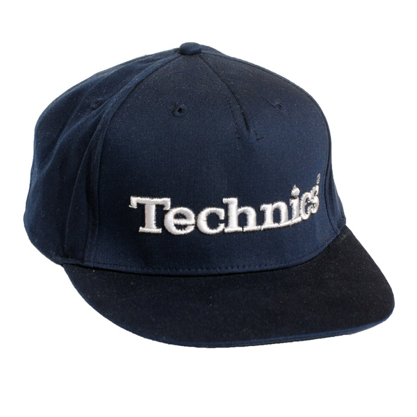 Technics 3d Snapback Cap - French Navy