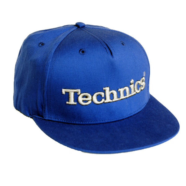 Technics 3d Snapback Cap - Royal Blue