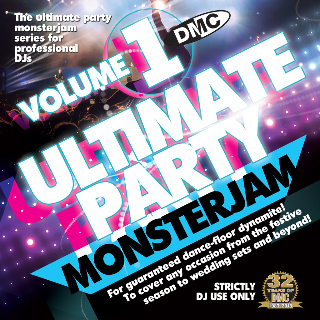 DMC Ultimate Party Monsterjam Volume 1- December 2015 Release - New for the Party Season