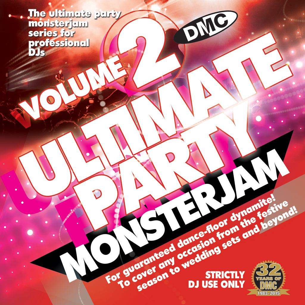 DMC Ultimate Party Monsterjam Volume 2- December 2015 Release - New for the Party Season