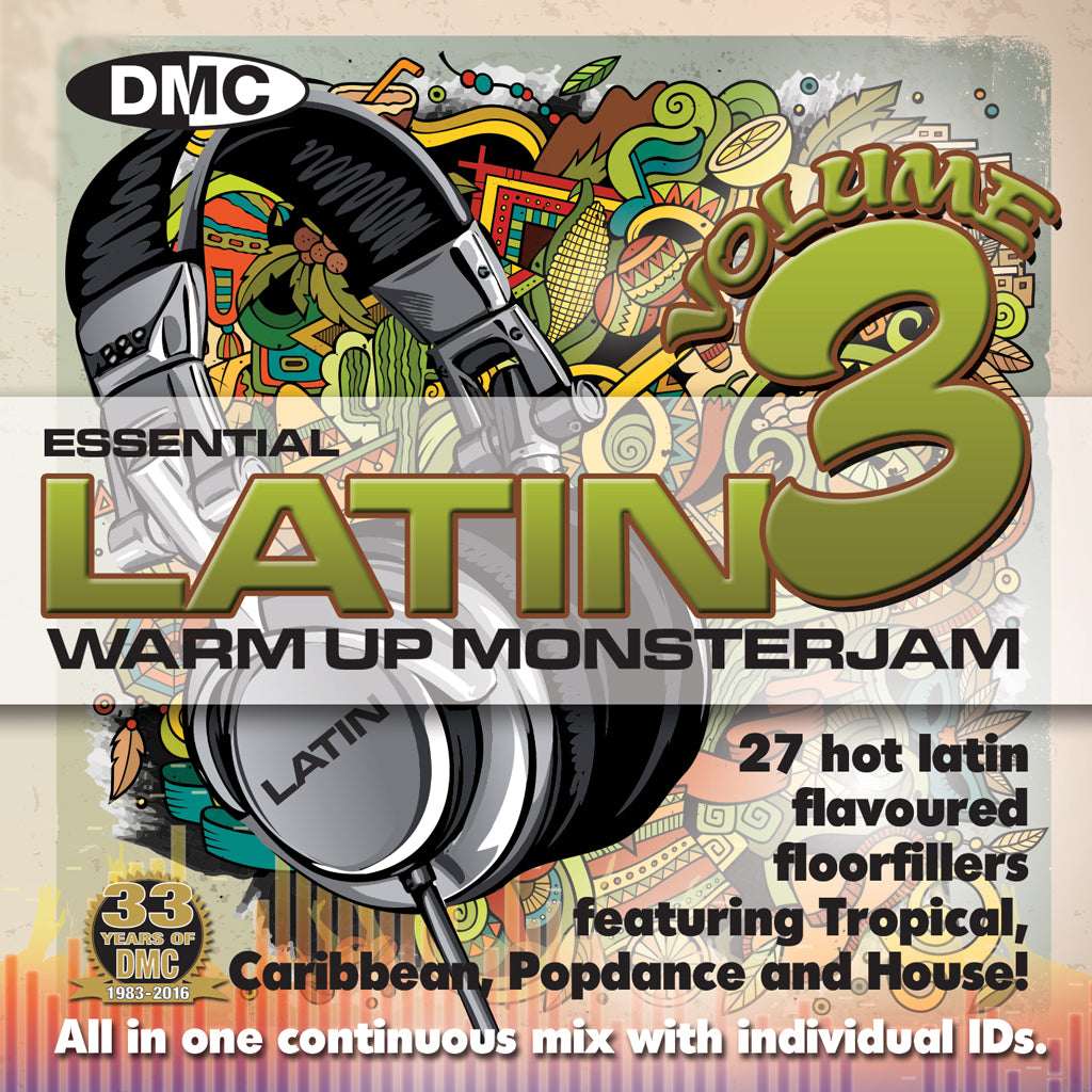 DMC Warm Up Latin Monsterjam Volume 3 - July 16 release