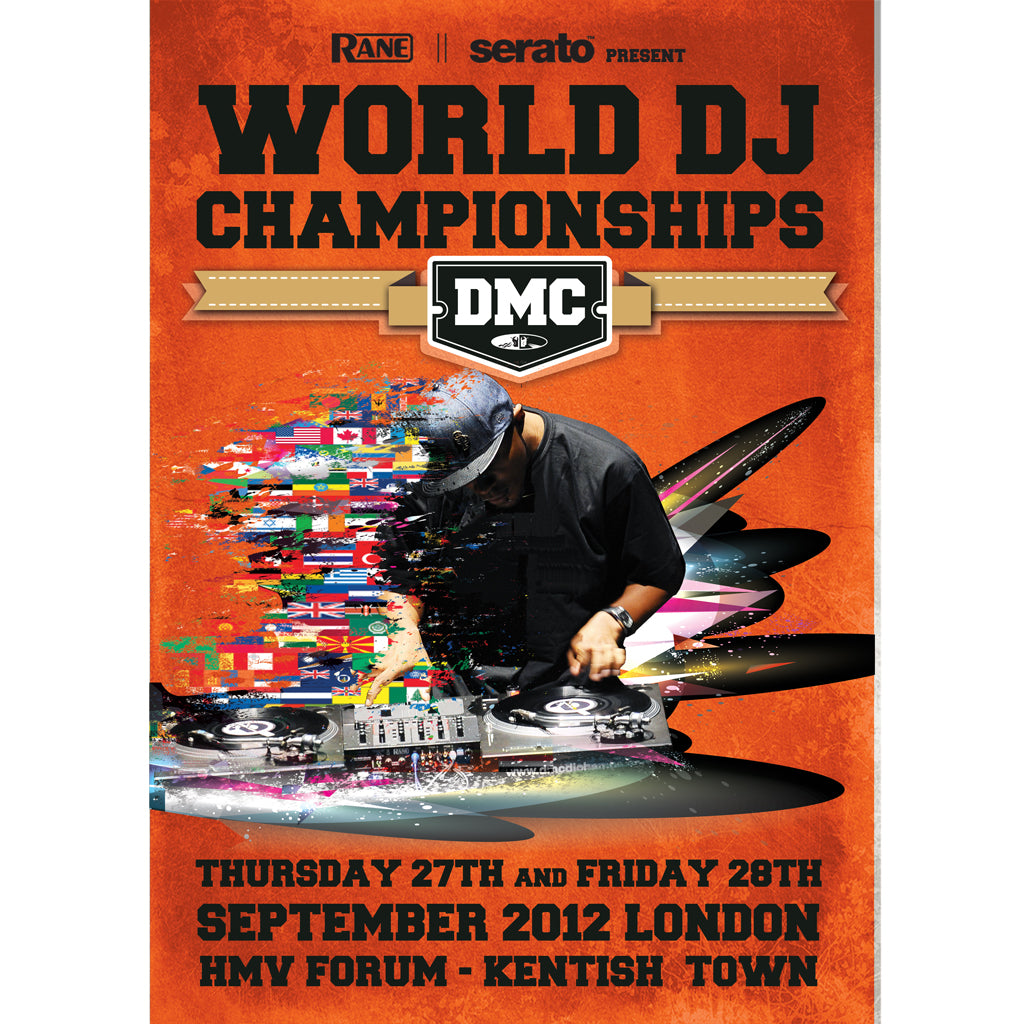 DMC World DJ Championship Final 2012 Poster