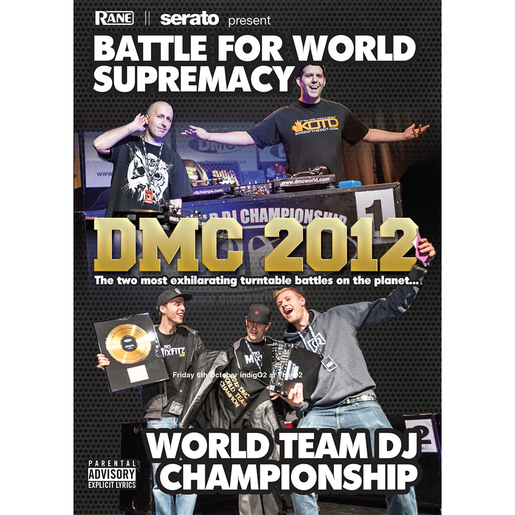 DMC World Battle & Team Championship 2012 DVD