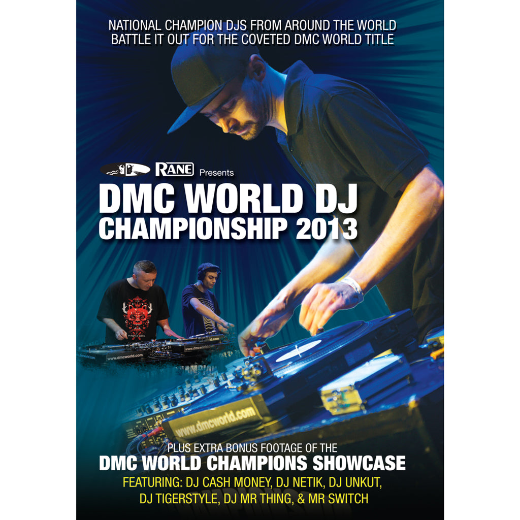 DMC World DJ Championships Final 2013 and World Eliminations DVD presented by Rane - New Release