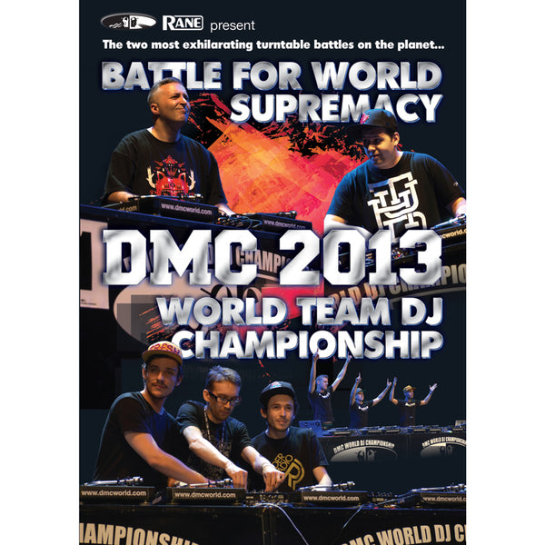 DMC World Battle & Team Championship 2013 DVD - Presented by Rane