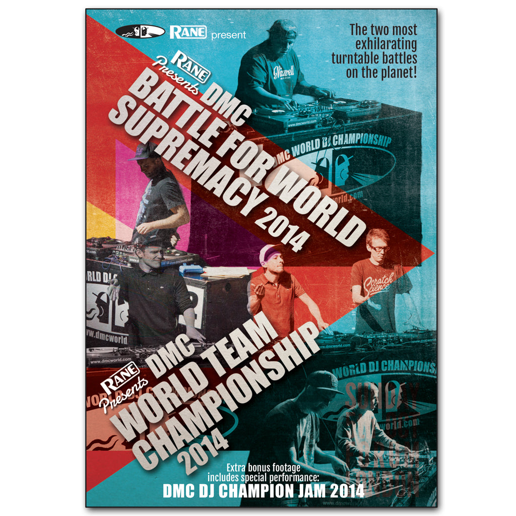 DMC  Battle For World Supremacy  & World Team Championship 2014 DVD