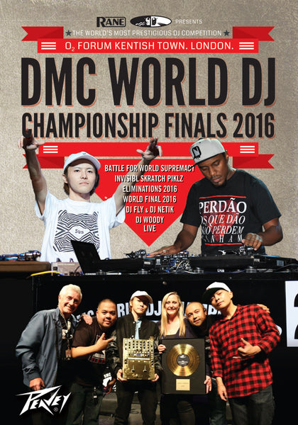 DMC 2016 WORLD DJ CHAMPIONSHIPS DVD  Featuring : DMC WORLD DJ FINAL / WORLD ELIMINATIONS / BATTLE FOR WORLD SUPREMACY / INVI