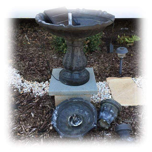 Common Fountain Setup Issues & Tips