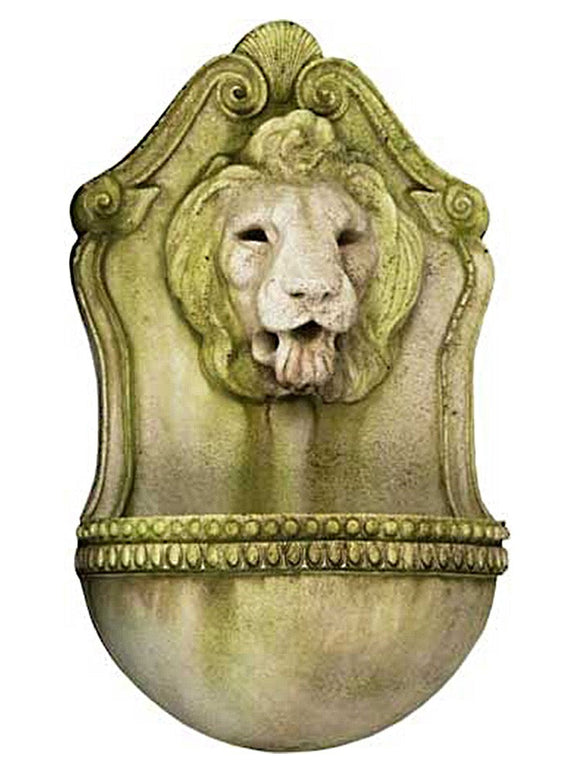 Royal Lion's Head in White Moss Finish 24