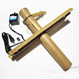 "Medium Half Round Adjustable 12"" Bamboo Water Fountain Kit with Pump"