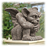 "Emmett The Crouching 10.5""  Outdoor Guardian Gargoyle Statue"