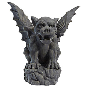 "Giant Medieval 22.5"" Outdoor Decorative Gargoyle Statue"