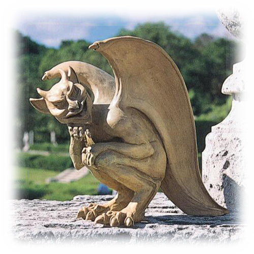 The Mysterious Hopping Gargoyle Statue 10