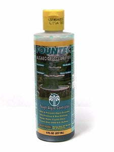 8-oz. Bottle FounTec Liquid Fountain Cleaner & Algaecide Formula