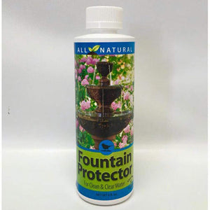 Enzyme Based Protector Formula for Bird Baths and Medium Sized Fountains