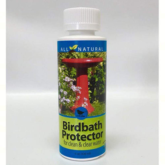 Enzyme Based Protector Formula for Bird Baths and Small Fountains