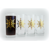 Gold Snowflake Glasses - ColorCognition.com