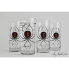 Black Widow Spider Glasses - ColorCognition.com