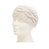 Mechaly Women's Cable Knit Winter Ivory Vegan Headband - ColorCognition.com