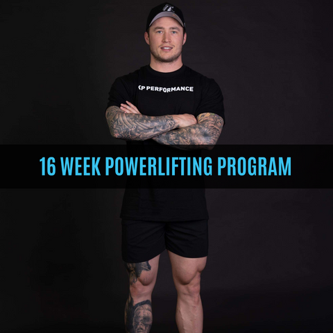 16 Week Powerlifting Strength Program