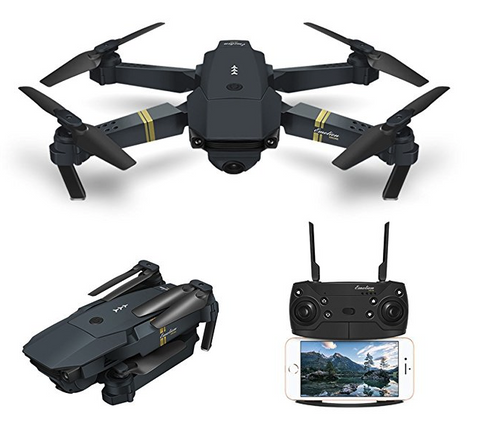 Combat Foldable HD Quadcopter Drone