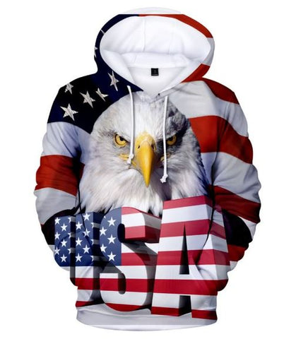 3D Eagle Tactical Hoodie