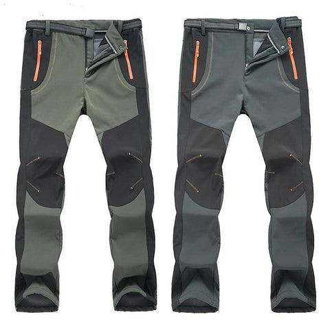 Outdoor Softshell Waterproof Hiking Pants