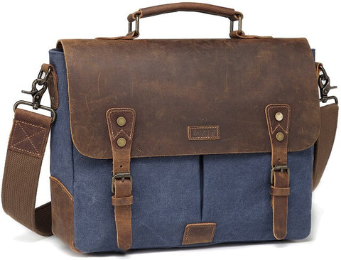 Wayfarer Canvas Messenger Bag
