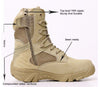 Zulu Waterproof Tactical Military Boots
