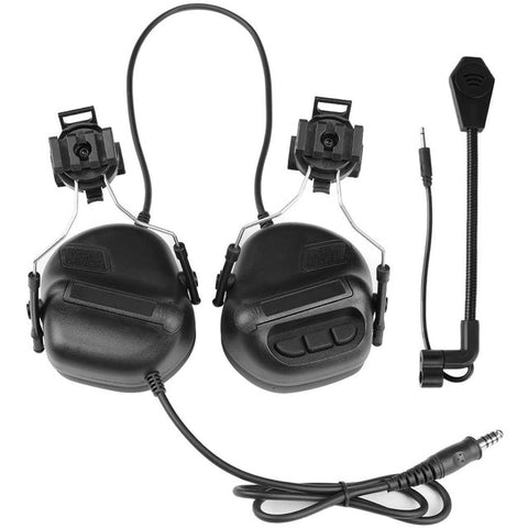 Tactical Headset with Rail Adapter