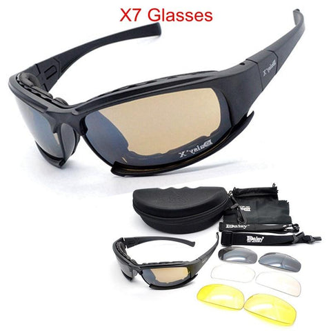 Polarized C5 C6 X7 Military Goggles