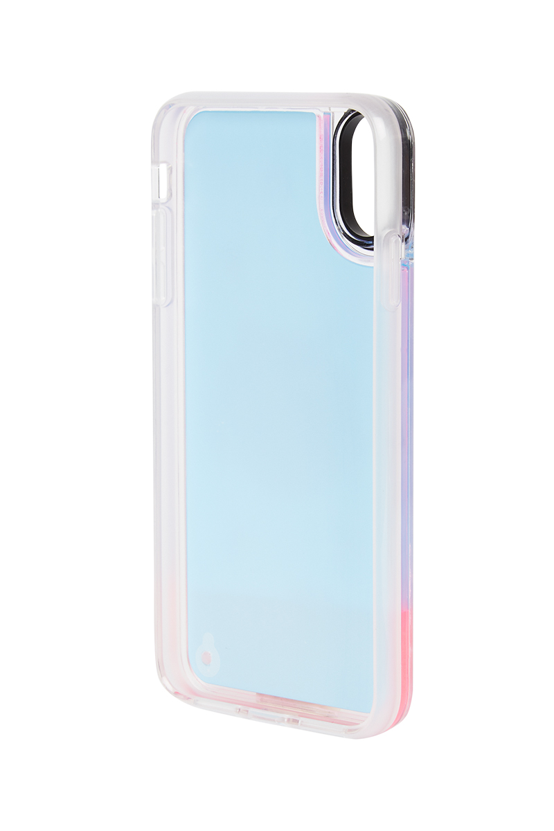 Mr. x Mira Mikati Pink Ombré Girl iPhone Case