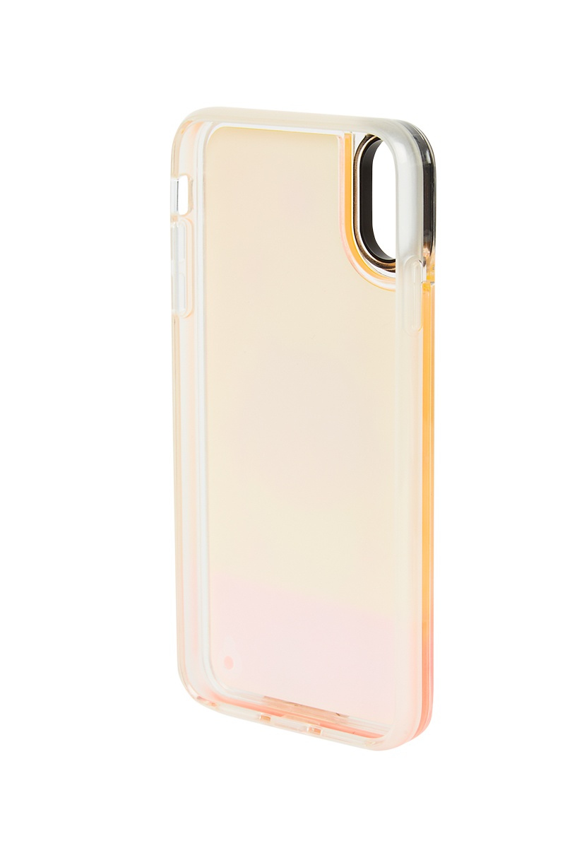 Mr. x Mira Mikati Orange Ombré Girl iPhone Case